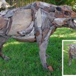 Driftwood Wild Boar